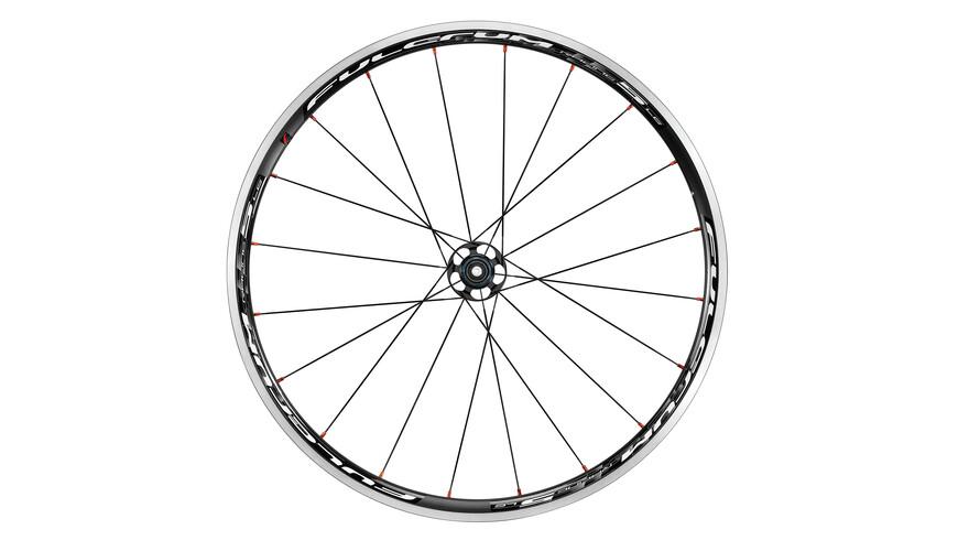 Fulcrum Racing 5 LG CX Laufradsatz Campagnolo 9-11-fach schwarz/weiß